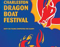 Charleston Dragon Boat Festival Poster 2013