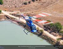 Bell 407GXP Air-to-Air