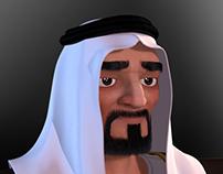khalegy character