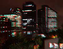 Bogotá Colombia - Anaglyph 3D