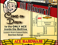 All Aboard ACE - Advertisement
