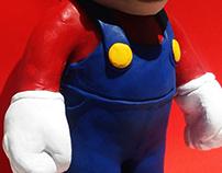 Mario Sculpture