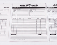 AmChar Wholesale, Inc. Orderform Re-design