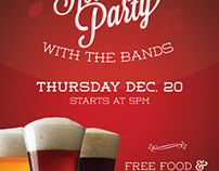 Holiday Party Flyer