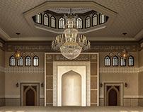 El Damam West Mosque Interior Design