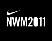 Graphic Production – Nike Women's Marathon 2011