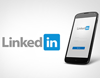 LinkedIn Android App Re-design