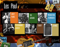 Rock & Roll Hall of Fame/Les Paul Kiosk
