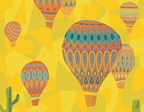 New Mexico International Balloon Festival Poster