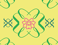 Lottus Flower Pattern