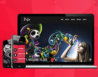 Zifa - One Page Creative Template