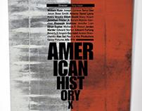 American History X - Cartell Tipogràfic