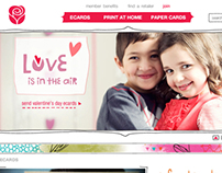 American Greetings Website Study