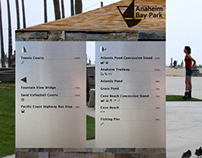 Anaheim Bay Park Wayfinding Signage