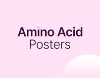 20 Amino Acids Poster Design