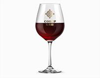 "identity for wine brand ""SOBER BASH"""