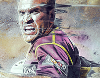 Gorden Tallis NRL Artwork