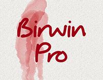 Typeface: Birwin Pro