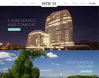Otium Golf Resort - Website Design
