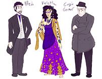 La Traviata Character Design