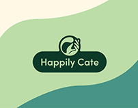 Happily Cate Branding
