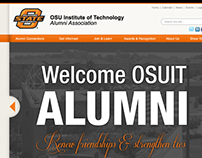 OSU Institute of Technology Alumni Website Concept