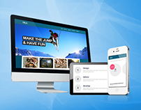 Blux - Responsive One Page Theme