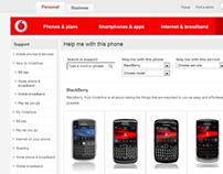 Support Area - Vodafone - Ireland