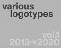 Various logotypes Vol.1 2013-2020