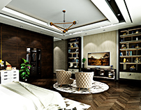Luxury Boy's bedroom interior design in Kuwait