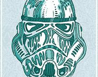 Stormtrooper (Star Wars) by Good Evening Art