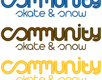 Community Skate & Snow Brand