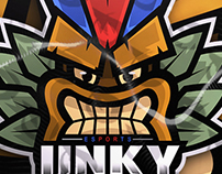 TOTEM MASCOT LOGO FOR UNKY ESPORTS