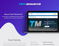 Tech Monarchs Mockup