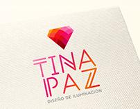 Branding + Layout para Tina Paz