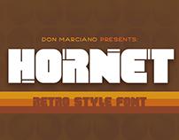 Hornet Retro Font