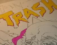 POSTER TRASH 2013 - MONSTRO DISCOS - BRASIL