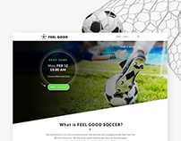 Feel Good Soccer Web & Mob design
