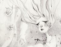 Curiosities {Graphite illustrations}