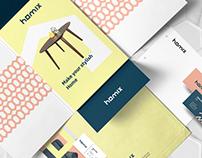 Homix brand design.