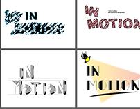 """5 """"In Motion"""" logo ideas"""