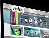 Webdesign Jean Paul Watches