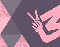 Peace by MeztyMez Logo