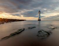 New Brighton lighthouse, Merseyside