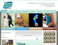 WebDesign de Site da Clinica Posture, Fortaleza-CE
