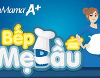 GAME BẾP MẸ BẦU - MAMA COOKING GAME