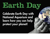 Earth Day Poster and Agenda