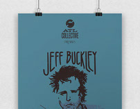 Jeff Buckley Poster for ATL Collective