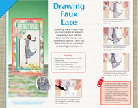 Lace Illustration Tutorial - Copic Marker