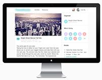 Meetup Page Design